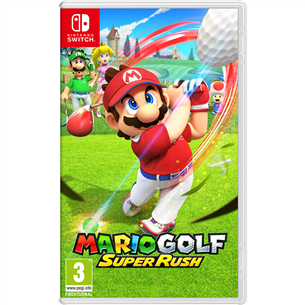 Switch game Mario Golf: Super Rush