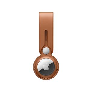 Кожаный брелок-подвеска для Apple AirTag