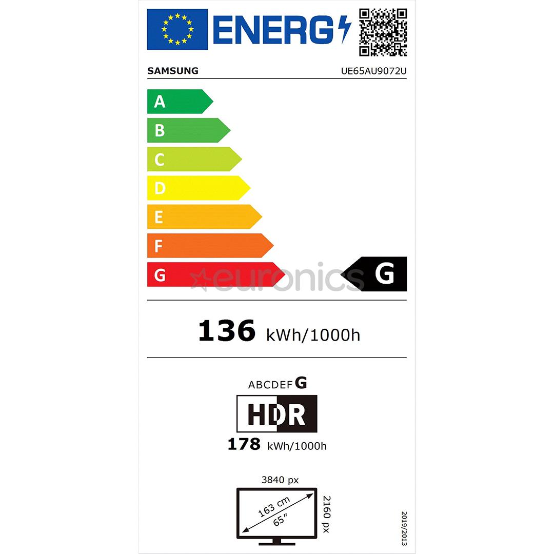 65'' Ultra HD 4K LED televizors, Samsung