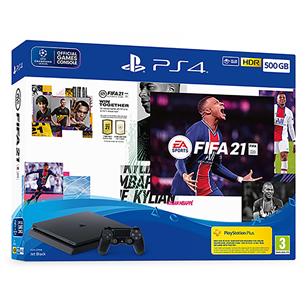 Console Sony PlayStation 4 Slim (500 GB) + FIFA 21 711719828723