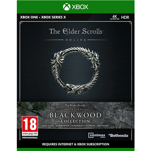 Xbox One / Series X/S game The Elder Scrolls Online: Blackwood Collection