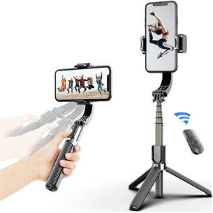 Selfie stick 4 in 1 Vlogging Gimbal, Mocco MO-GIMB-4IN1-VLOG
