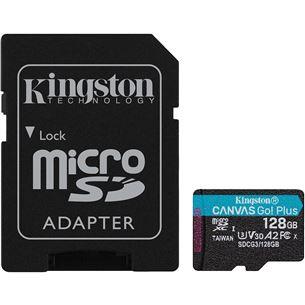 Atmiņas karte microSDXC Canvas Go UHS-I, Kingston / 128GB SDCG3/128