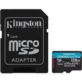 Карта памяти microSDXC Canvas Go UHS-I, Kingston / 128ГБ