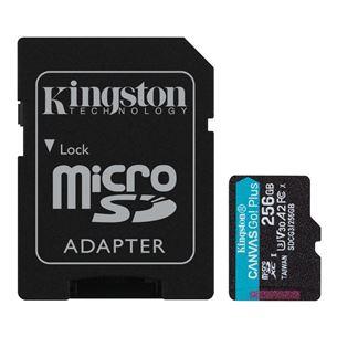 Карта памяти microSDXC Canvas Go UHS-I, Kingston / 256ГБ