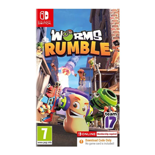 Spēle priekš Nintendo Switch, Worms Rumble
