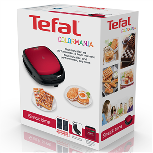 Sancwich and waffle maker Tefal Snack Time