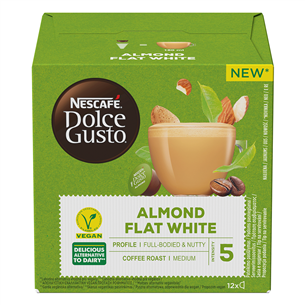 Coffee capsules Nescafe Dolce Gusto Almond Flat White