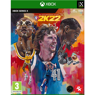 Игра NBA 2K22 75th Anniversary Edition для Xbox Series X XSXNBA2K22ANNI
