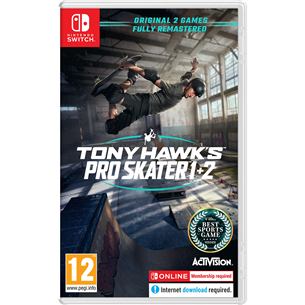 Игра Tony Hawks Pro Skater 1+2 для Nintendo Switch