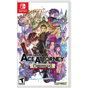 Switch game The Great Ace Attorney Chronicles