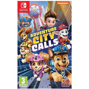 Switch game Paw Patrol: Adventure City Calls