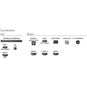 43'' Ultra HD 4K LED televizors, Philips