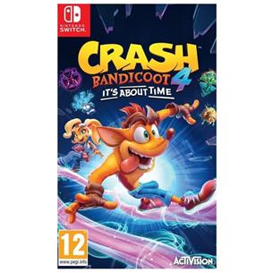 Spēle priekš Nintendo Switch, Crash Bandicoot 4: It's About Time