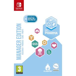 Игра Big Pharma для Nintendo Switch