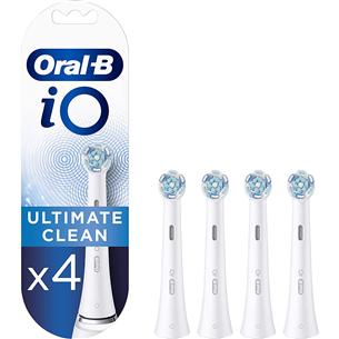 Rezerves zobu birstes uzgaļi Oral-B iO Ultimate Clean, Braun (4 gab)