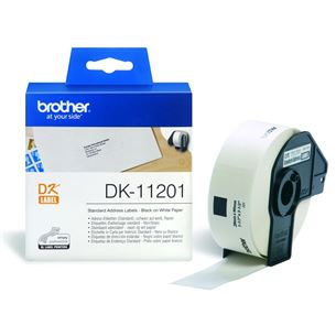 Etiķetes DK11201, Brother