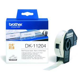 Etiķetes DK11204, Brother