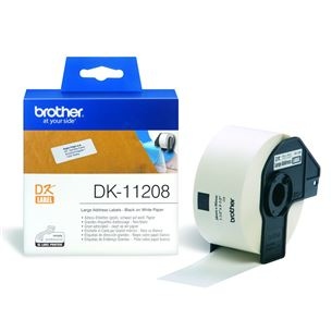 Etiķetes DK-11208, Brother