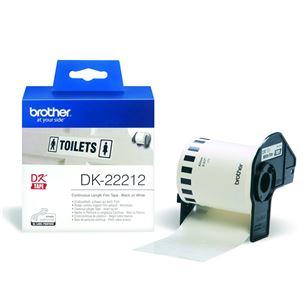 Etiķetes DK22212, Brother