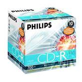 Диск CD-R Philips 52x печатаемый (1 шт)