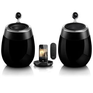 Docking speaker with AirPlay Fidelio SoundSphere, Philips ...