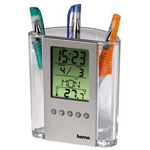 Термометр / стаканчик для карандашей, Hama