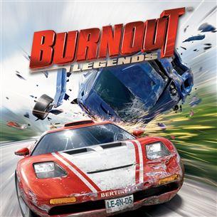 Spēle priekš PlayStation Portable Burnout: Legends