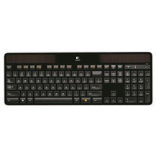 Bezvadu klaviatūra K750, Logitech / RUS