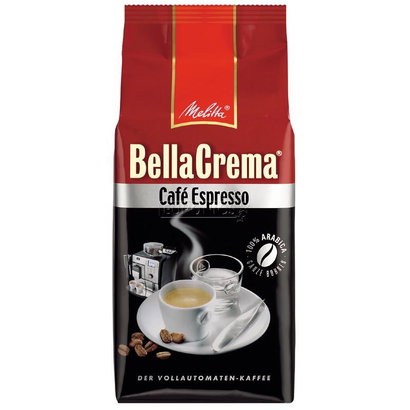 coffee beans bellacrema cafe espresso melitta 008300. Black Bedroom Furniture Sets. Home Design Ideas