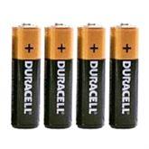 Baterijas  Duracell AA 4gb
