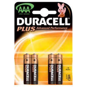 Baterijas AAA Duracell 4gb