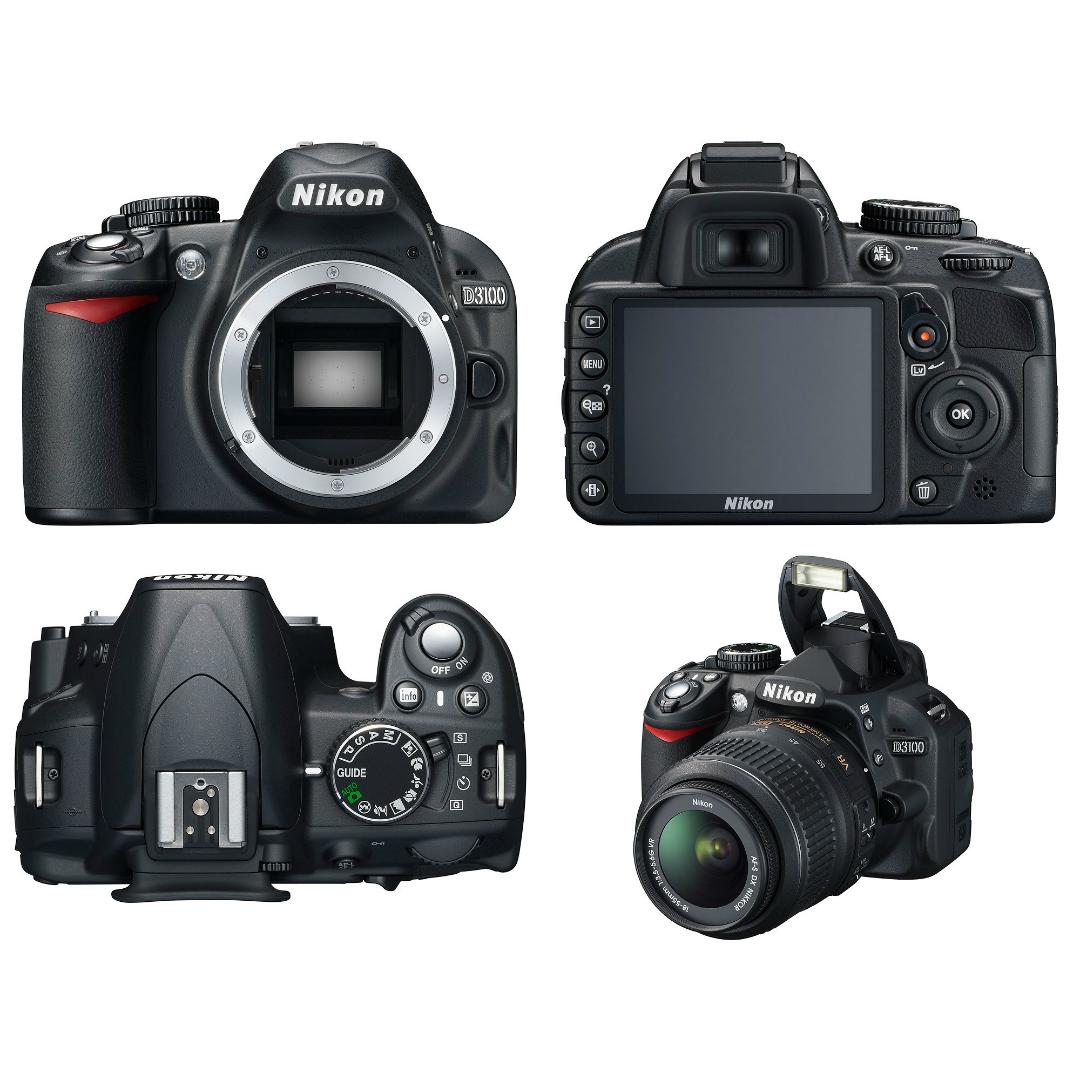 DSLR Camera D3100 18 55 Mm Lens Nikon D3100KIT