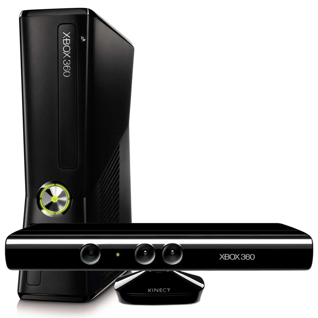 Xbox 360 slim 250 gb kinect sensor kinect sports s7g 00107 - Xbox 360 console with kinect ...