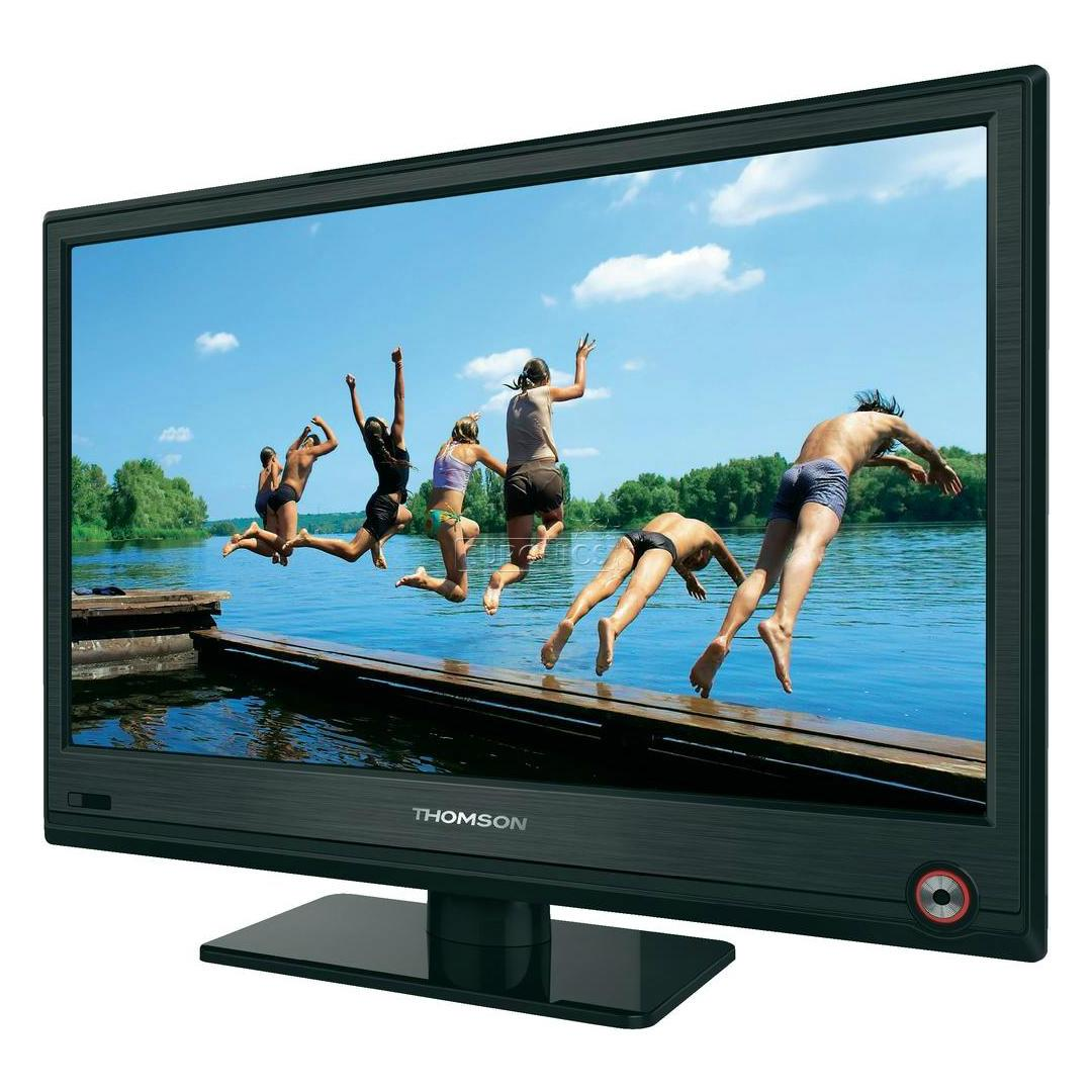 "Lcd Vs Led Tv: 19"" LED LCD TV, Thomson, 19HU5253"