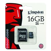Atmiņas karte 16GB SDHC Class4, Kingston