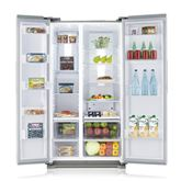 Side-by-side refrigerator, Samsung / height: 178,9 cm