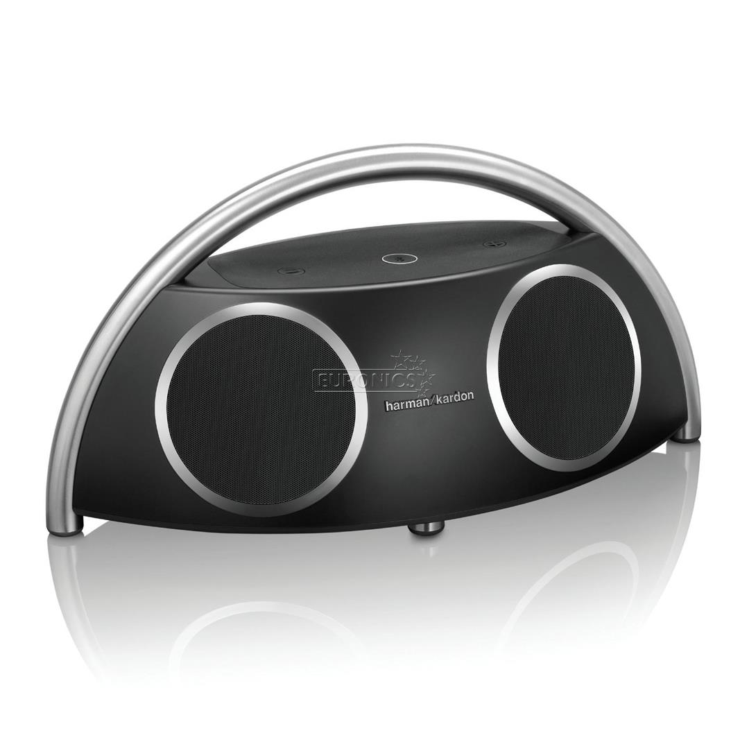 wireless speaker harman kardon go play hkgoplaywrlblkeu. Black Bedroom Furniture Sets. Home Design Ideas