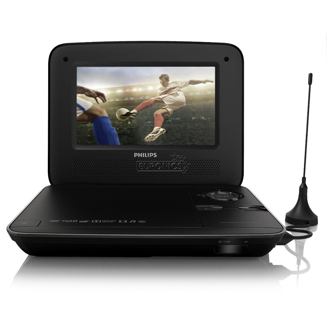 portable dvd player philips pd7015 12. Black Bedroom Furniture Sets. Home Design Ideas