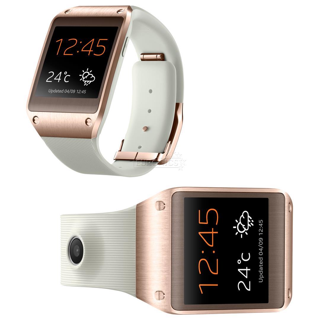 smart watch galaxy gear samsung bluetooth sm v700rose gold. Black Bedroom Furniture Sets. Home Design Ideas