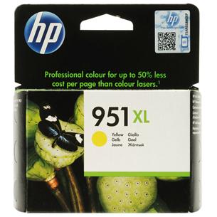 Tintes kārtridžs 951XL, HP / dzeltena