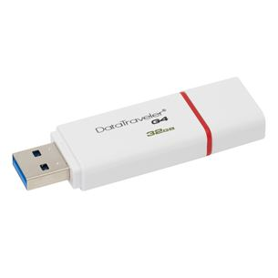 USB zibatmiņa DataTraveler G4, Kingston / 32GB, USB 3.0