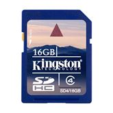 Atmiņas karte 16GB SDHC Class 4, Kingston