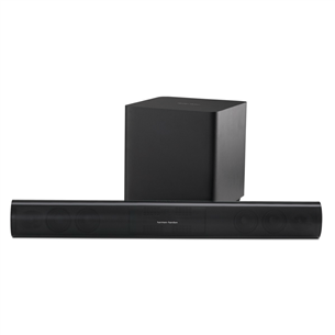 Soundbar system with wireless subwoofer, Harman/Kardon