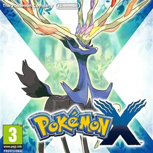 Spēle priekš Nintendo 3DS, Pokemon X