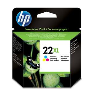 Cartridge NR 22XL, HP