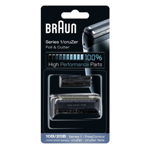 Replacement Foil and Cutter Braun 10B/20B