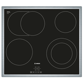 Built in ceramic hob with frame, Bosch