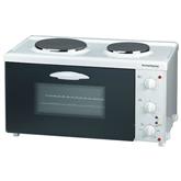 Мини-духовка с двумя варочными зонами, Rommelsbacher