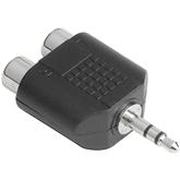 Аудио адаптер 2 x RCA -> 3,5 мм, Hama